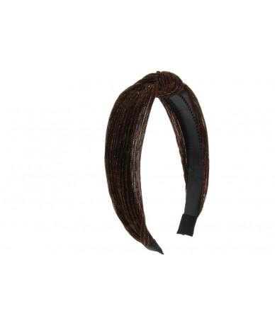 cerchietto per capelli modello fasciia nodo colore bordeaux