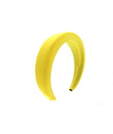 cerchietto per capelli bombato colore giallo