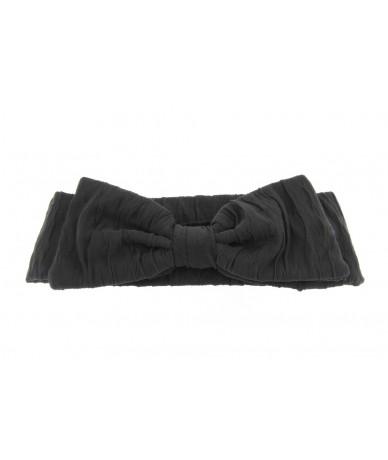 fascia per capelli  elegante con fiocco colore grigio
